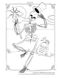 Small Picture Skeleton dancing shaking bones to color