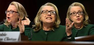 Image result for hillary at benghazi hearings