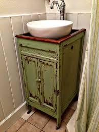 Used Bathroom Vanity Cabinets Vanity Cabinet Repurposed Furniture For Bathroom Vanity Tsc