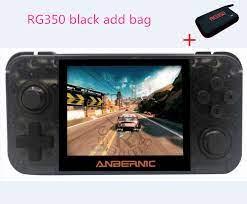 Mới RG350 Retro Tay Cầm Chơi Game Cho Máy PSP Mở Hệ Thống Linux 3.5 Inch  Màn Hình IPS 16GB 64 Bit Cầm Tay trò Chơi Điện Tử RG 350 Tay Cầm