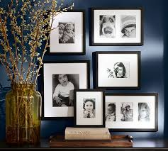 on wall art gallery frames with wood gallery in a box frames pottery barn