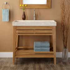 Unfinished Oak Bathroom Cabinets