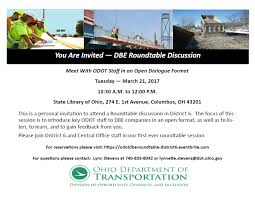 odot dbe roundtable