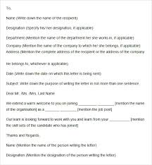 Sample Welcome Letter 9 Documents In Word