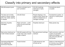 bphostileworld primary and secondary effects of earthquakes  earthquake
