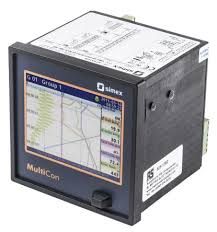 Simex Sx Cmc99 04f0 4 Channel Multichannel Controller Chart Recorder