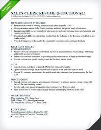 Retail Job Resumes Luxury Retail Resume Samples For Sales Clerk Functional Resume