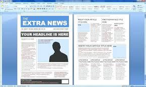 Microsoft Newspaper Article Template Article Template Word Hostingpremium Co