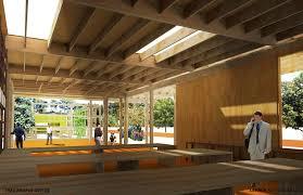 lehrer architects office design. TreePeople_View 3_Interior View_Straightened W Text.jpg Lehrer Architects Office Design