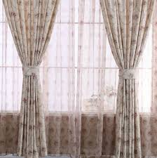 Image Window Coverings Curtainshomesalecom Popular Floral Printing And Jacquard Leaf Bedroom Home Office Curtains chs1150
