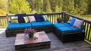 wooden pallets furniture. Plain Pallets Outdoor Lounger Made Of Wooden Pallets On Furniture