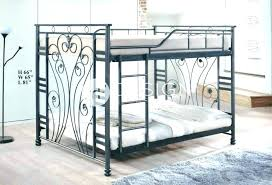 Wrought Iron Bed Frame King Size Large White Twin Iro – idego