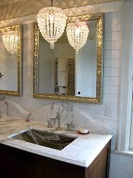 nice bathroom chandelier lighting vanity inside design 13