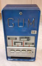 Vending Machines For Sale Ebay Stunning Much Coveted Vintage Gum Vending Machine For Sale On Ebay A Cwtch