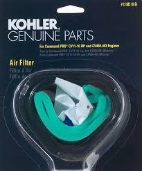 kohler part s air filter pre cleaner kit cv cv kohler part 1288310s1 air filter pre cleaner kit cv11 cv12 5 cv14 cv15