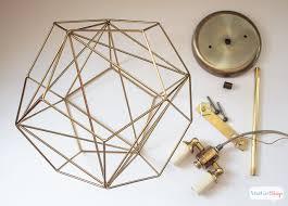lighting diy. You Could Spend Hundreds Of Dollars On A Geometric Globe Pendant Light, Or Lighting Diy