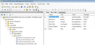 access sql database  from sql database