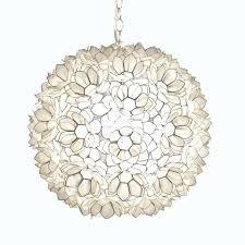 round capiz chandelier shell fl pendant large worlds lighting world market round capiz chandelier