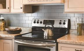Terrific Stainless Steel Backsplash Tiles Self Adhesive 80 About Remodel  Room Decorating Ideas With Stainless Steel