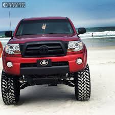 2007 Toyota Tacoma Fuel Hostage Suspension Lift 6in Body 3in