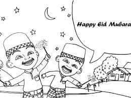 Eid Mubarak Coloring Pages Free Coloring Pages Eid Mubarak Coloring