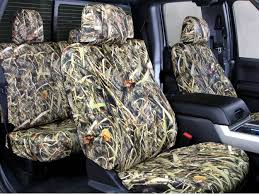 caltrend tough camo seat covers full set