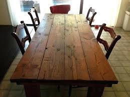 rustic dining table diy. Diy Rustic Dining Table Farmhouse White