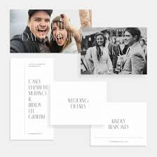 Wedding Invitation With Photo Foil Stamped Minimal Wedding Invitation