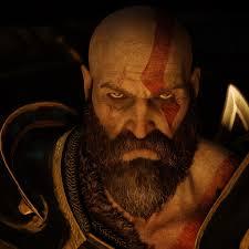 2048x2048 Kratos Angry Eyes God Of War ...