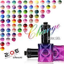 y s 15ml rature color changing gel nail polish uv soak off nail gel varnish led nail