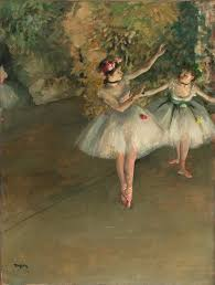 """Résultat de recherche d'images pour """"fleurs fuschias danseuses de DEGAS"""""""