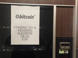 Bitcoin Vending Machine Delectable This Bitcoin Vending Machine Is Sending Weird Signals About The