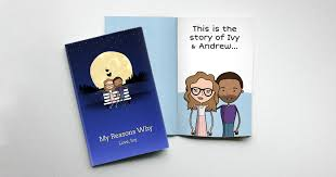 Personalized Gift Book That Says Why <b>You Love</b> Someone ...