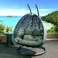 hanging egg chair outdoor bunnings perth wicker rattan furniture