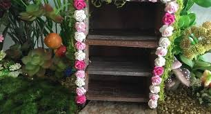 diy fairy garden furniture how to make a miniature rose cabinet that s perfect for spring