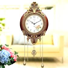 wall clocks large pendulum wall clock home and furniture awesome vintage clocks at pocket watch