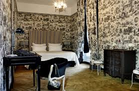 Saint James Hotel, Paris - re-decorated by super star decorator Bambi Sloan  in Unique Rooms