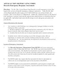 Army After Action Report Template Corrective Free Images Of