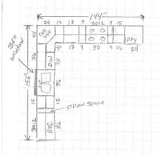 Standard Kitchen Cabinet Height Kitchen Cabinets Plans Dimensions