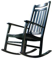 outdoor black rocking chair outdoor rocking chair null black wood outdoor