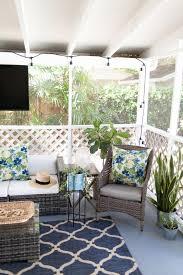 back porch spring refresh andi mans