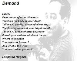 langston hughes poems langston hughes poems  langston hughes poems