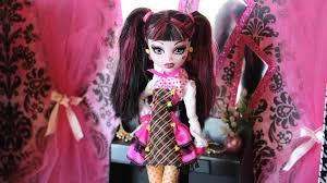 Monster High Bedroom Decorations Doll Room Tour Draculauras Closet Plus Craft Project Youtube