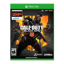 Call Of Duty Black Ops 4 Xbox One Only At Wal Mart