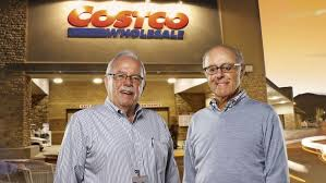 costco was co founded jim sinegal left and the late jeff brotman