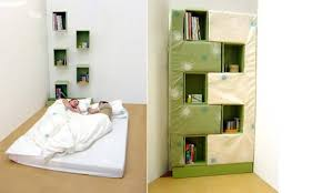 Come Fare Un Letto Contenitore : Dal letto contenitore sonoro al che si trasforma in libreria