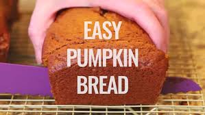easy pumpkin bread i heart eating