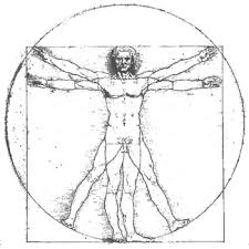 Vitruvian Man, completed in 1490
