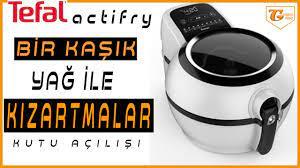 Tefal actifry l tefal actifry patates kızartması l tefal fritöz - YouTube