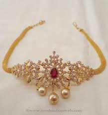 Simple Armlet Designs Gold Dandapatti Designs Gold Jewelry Simple Simple
